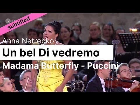Opera Lyrics - Anna Netrebko ♪ Un Bel Di Vedremo (Madama Butterfly, Puccini) ♪ Italian & English