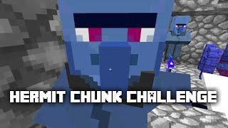 Minecraft: Hermit Chunk Challenge -6- BEST VILLAGER FARM ON YOUTUBE ✔