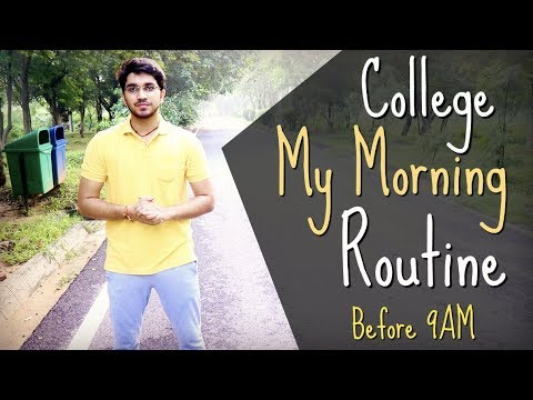 College - My Morning Routine | 4AM - 9AM