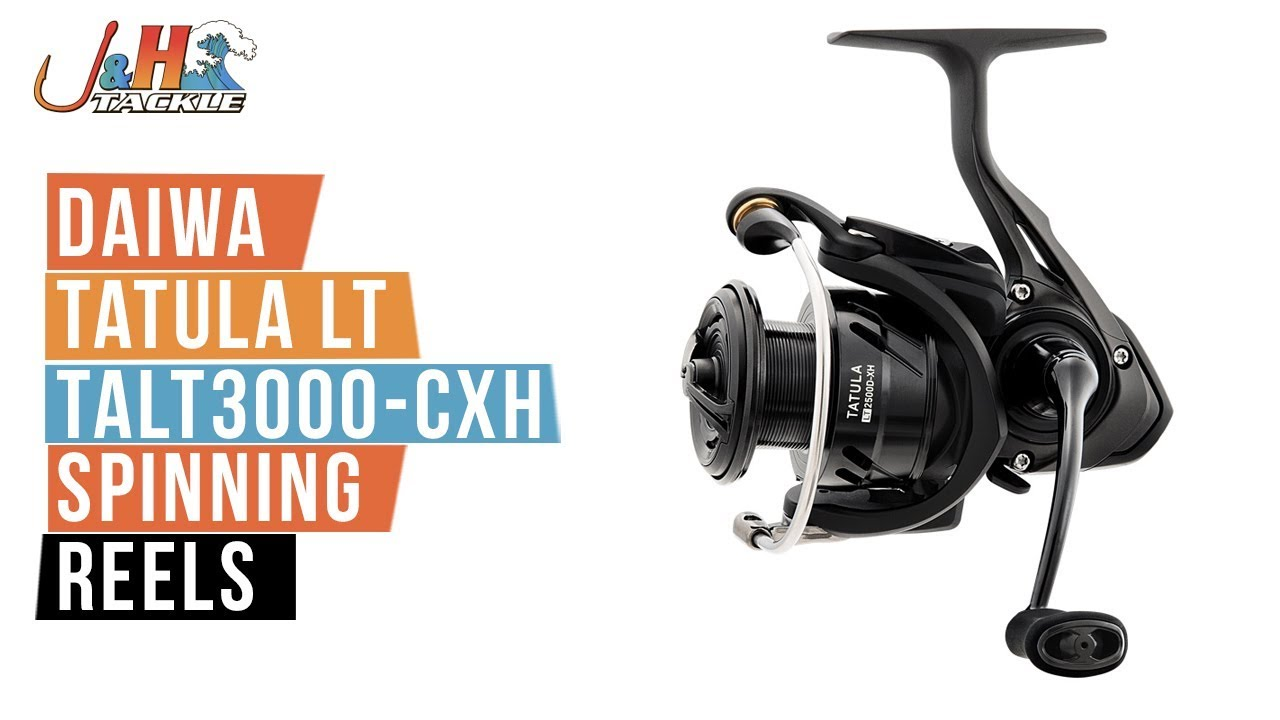 cb3752e90eb Daiwa Tatula LT TALT3000-CXH Spinning Reels | J&H Tackle - YouTube