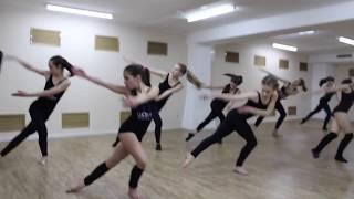 "Театр танца 'Шаги'"". Открытый урок Джаз- Модерн."