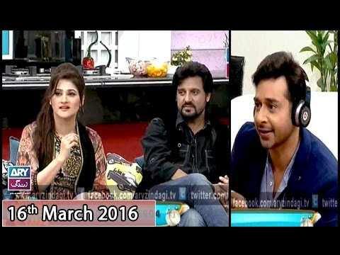 Salam Zindagi - Guest: John Rambo & Sahiba Afzal - 16th March 2016