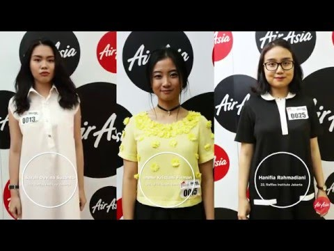 AirAsia Runway Ready Designer Search 2016: Episode 2 – Auditions in Jakarta