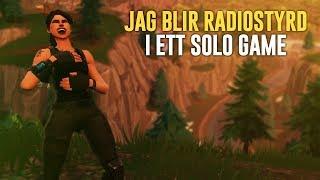 ALLT HAN SÄGER MÅSTE JAG GÖRA I ETT SOLO GAME! (RADIOSTYR MIG) - FORTNITE PÅ SVENSKA