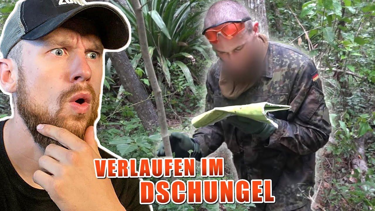 VERLAUFEN im DSCHUNGEL - KSK Ausbildung Orientierung im Dschungel | Fritz Meinecke