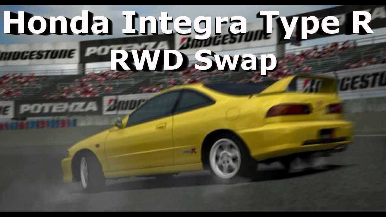 Forza Honda Integra Type R Fwd To Rwd Swap Drift Build New Hot