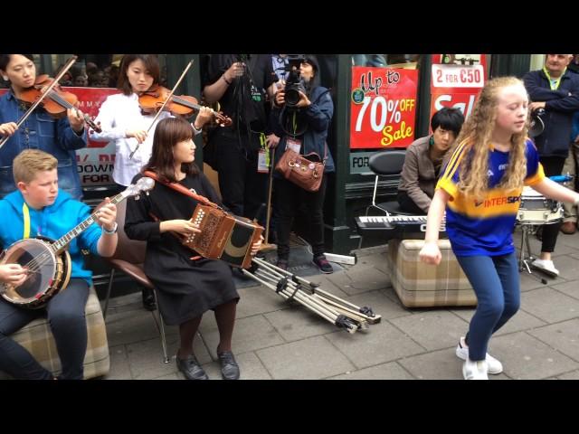 Toyota Ceili Band @ Fleadh Cheoil 2016 Street Performance 3