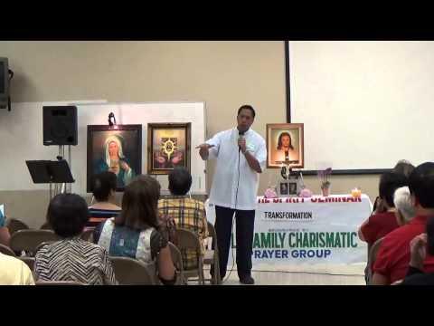 09-25-2014 LSS, Topic #7 Transformation, Fr. Joshua Santos, MMHC