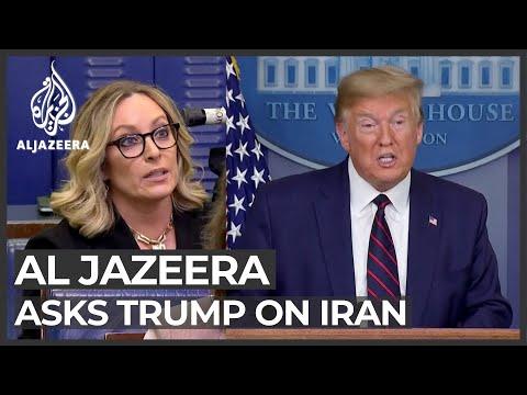 Al Jazeera Asks Trump If US Will Help Iran Face COVID-19