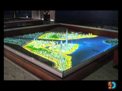 4D World Co (Digital Display Solutions) - Interactive Physical model