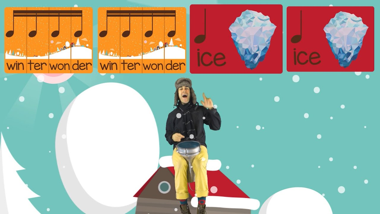 Snow Day (Rhythm Lesson) | Preschool Prodigies Music Lesson From The Prodigies Music Curriculum