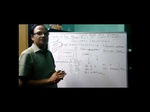 Download CLASS 12 BIO ZOO PRINCIPLES OF INHERITANCE AND VARATION PART 3 VIDEO 3