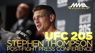 UFC 205 Post-Fight Press Conference: Chris Weidman, Stephen Thompson