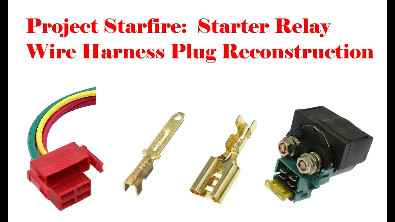 project starfire: starter relay plug replacement