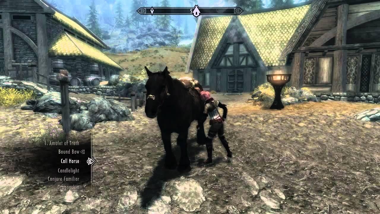 Skyrim Horse Call Mod