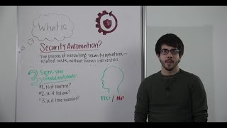 Whiteboard Wednesday: What Is Security Automation?