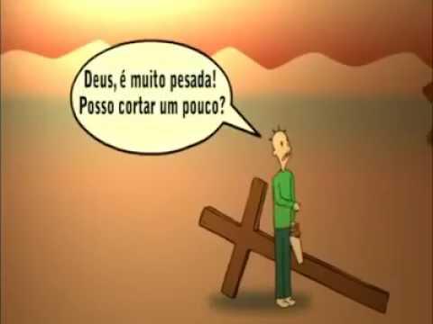 Resultado de imagem para homem carregando duas cruzes