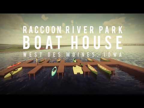 Raccoon River Park Boathouse - City of West Des Moines, IA