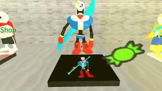 Roblox Undertale Survive the Monsters! (disbelief papyrus test!)