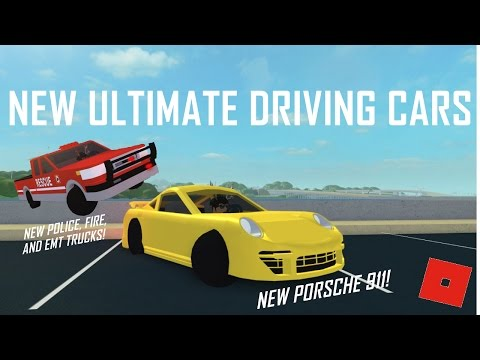 NEW CARS IN ULTIMATE DRIVING!!! || ROBLOX - Ultimate Driving Westover Islands
