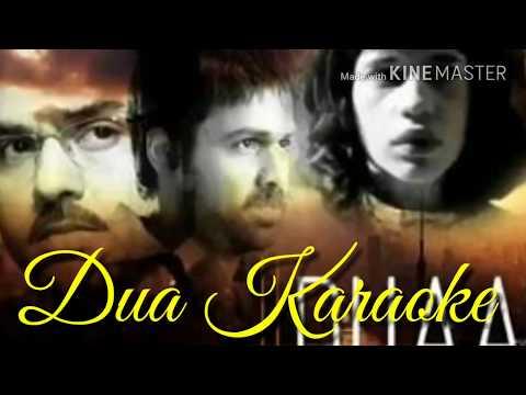 Jo bheji thi dua Karaoke With Lyrics | Nandini Srikar | Arijit Singh | Shanghai