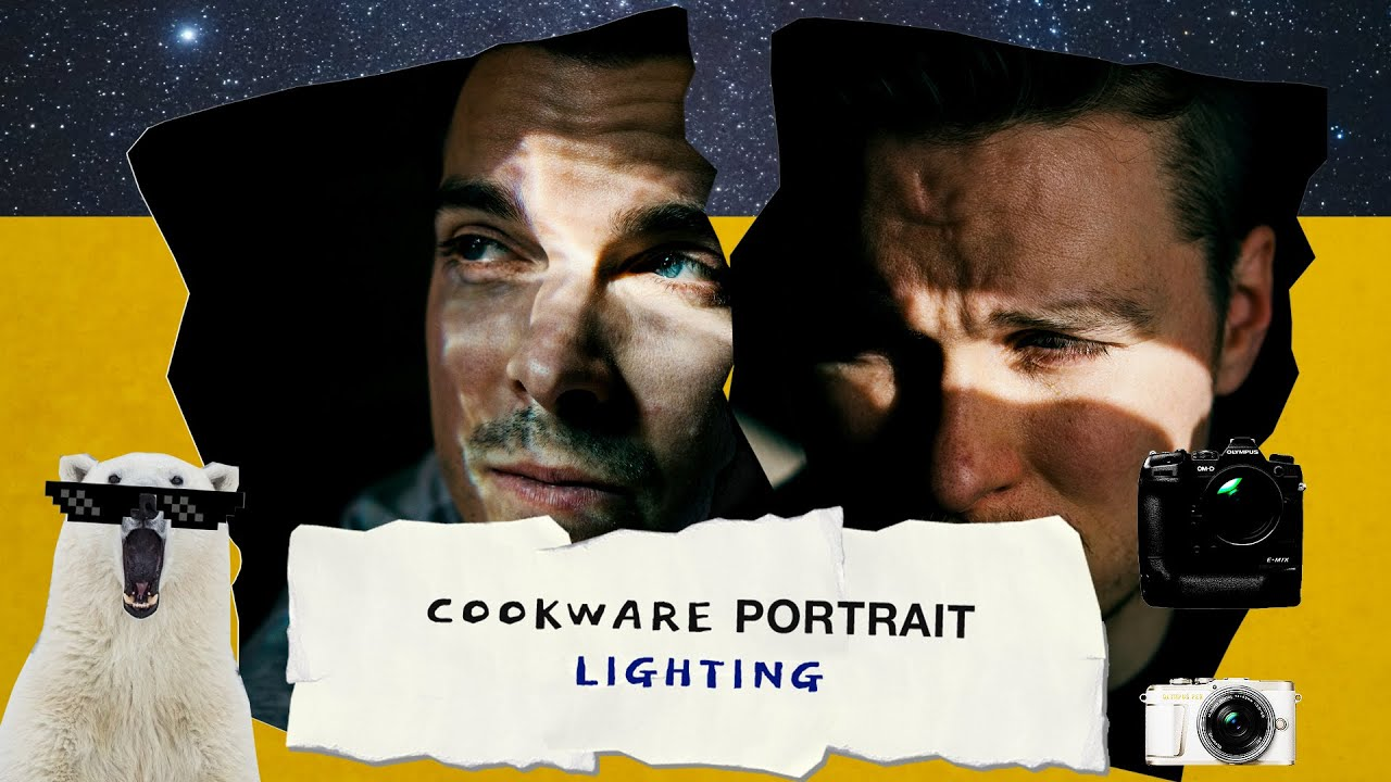 Cookware Portrait Lighting