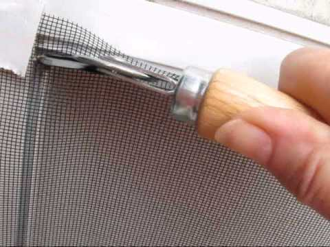 fixing-the-rv-screen-door.wmv
