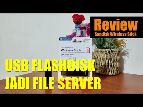 Review Sandisk Connect Wireless Stick 32GB. USB Flashdisk Wifi!