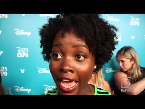 Lupita Nyong'o Star Wars D23 Expo
