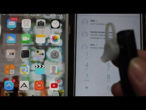 cara menyambungkan dan pemakain Headset Bluetooth 4connect Q7
