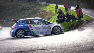 Rally il Ciocco 2018 - Peugeot 208 T16 e Paolo Andreucci - Shakedown