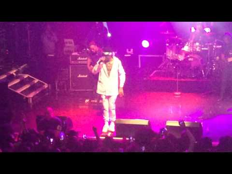 August Alsina Downtown Live In London 27.02.2015