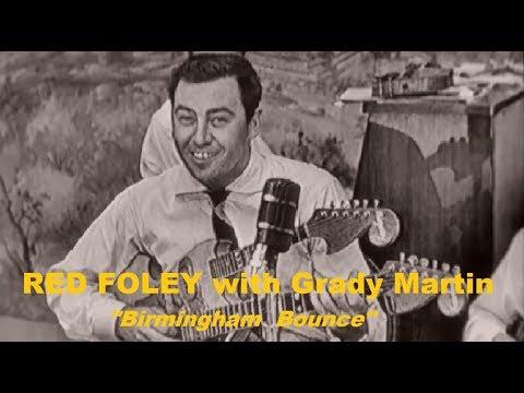 RED FOLEY with Grady Martin - Birmingham Bounce (1955) TV Show