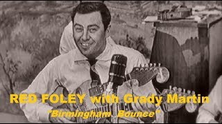 RED FOLEY with Grady Martin - Birmingham Bounce (1955) TV Show