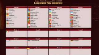 Uefa Europa League 2010/2011 Group Stage Draw (27-08-10)