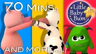 Learn with Little Baby Bum | Oranges and Lemons | Nursery Rhymes for Babies | Songs for Kids