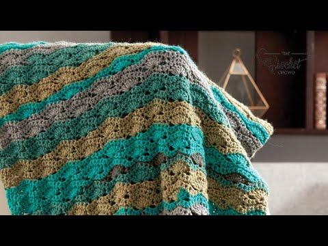 Crochet Wave Blanket