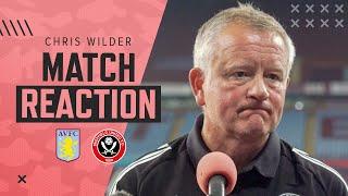 Chris Wilder | Aston Villa vs Sheffield United | Match Reaction Interview