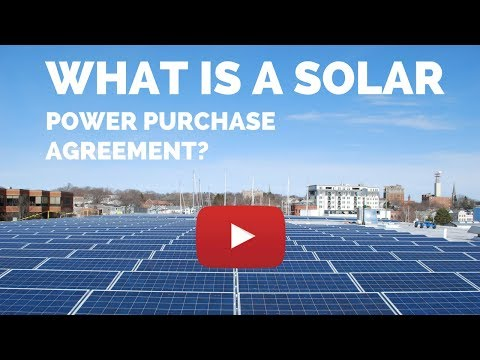 What is a Solar PPA (Power Purchase Agreement)