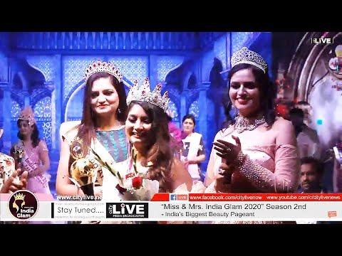 "#CITYLIVE ""Miss & Mrs. India Glam 2020"" Grand Finale - 5 Finalist Round"