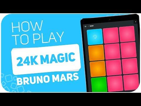 How to play: 24K MAGIC (Bruno Mars) - SUPER PADS - Kit Magic