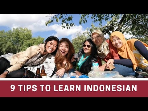 9 Tips To Learn Indonesian