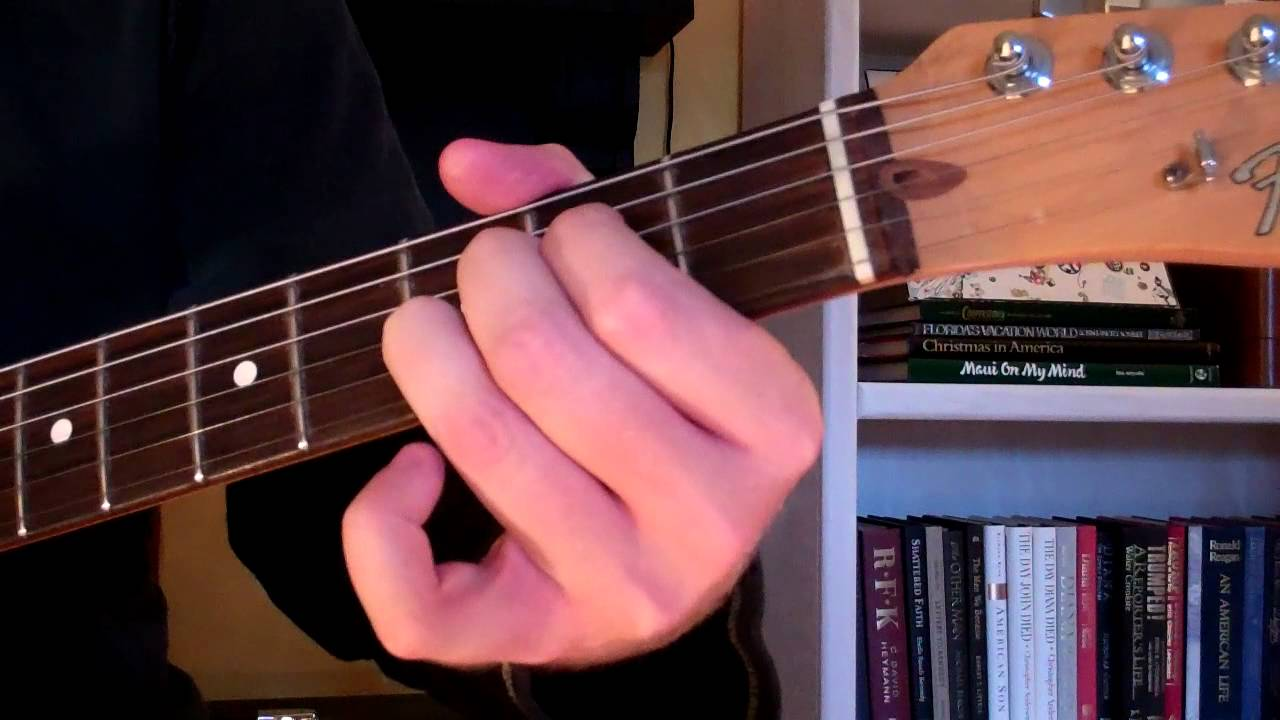 How To Play The Asus4 Chord On Guitar Suspended Chord Youtube
