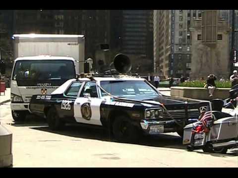 Quot Blues Brothers Quot Custom Cop Car On Michigan Avenue In
