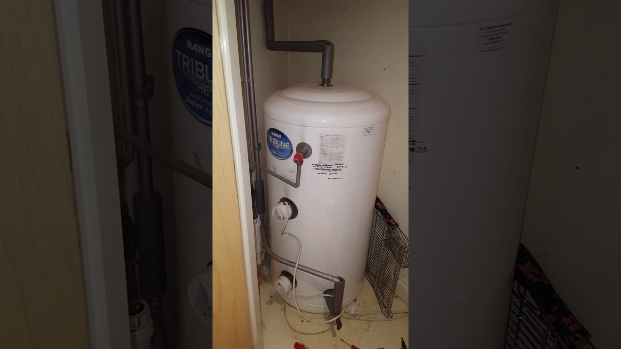 No Hot Water Electric unvented cylinder - YouTube