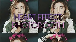 Cara Edit Heart Effect (Photobooth) di Smartphone