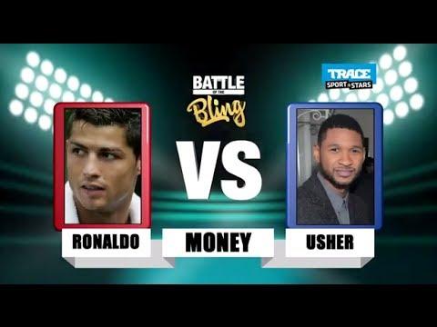 Ronaldo vs Usher - Who is Richer?