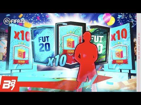 10 X FUT BIRTHDAY PARTY BAG PACKS! | FIFA 20 ULTIMATE TEAM