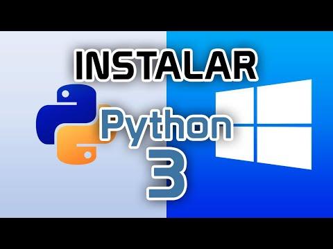 ▷ Como DESCARGAR e INSTALAR Python en Windows 10 🐍
