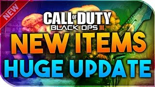 Black Ops 3 | NEW WEAPONS - NEW BLACK MARKET PATCH (NEW SUPPLY DROP ITEMS!!)
